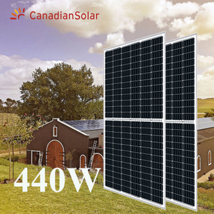 Canadian 144cells 440w mono Solar Panels